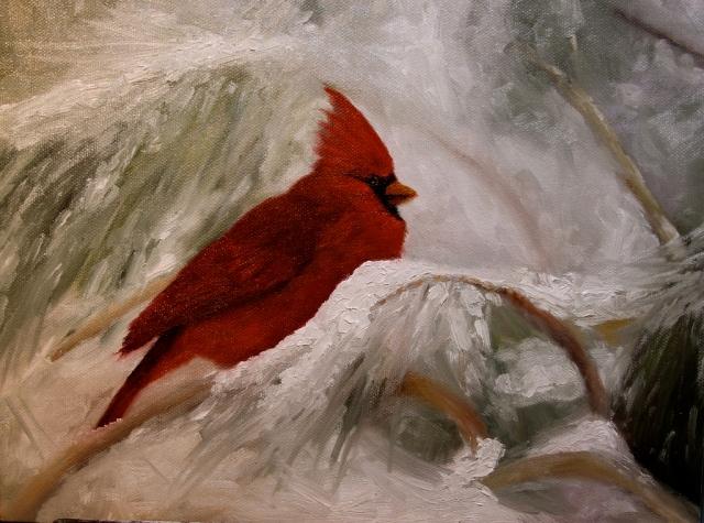 Winter's Nest, by Christine Marx