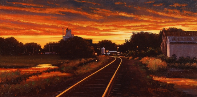 Dawn Inferno Study, by Brian Slawson