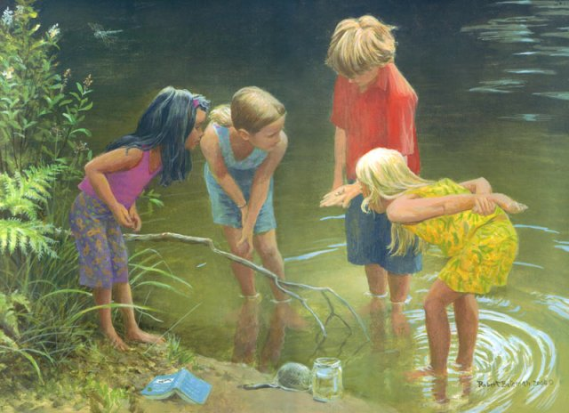 Getting to Know, by Robert Bateman