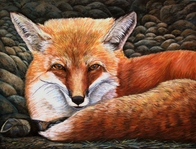 Red Fox, by Nancy Walters
