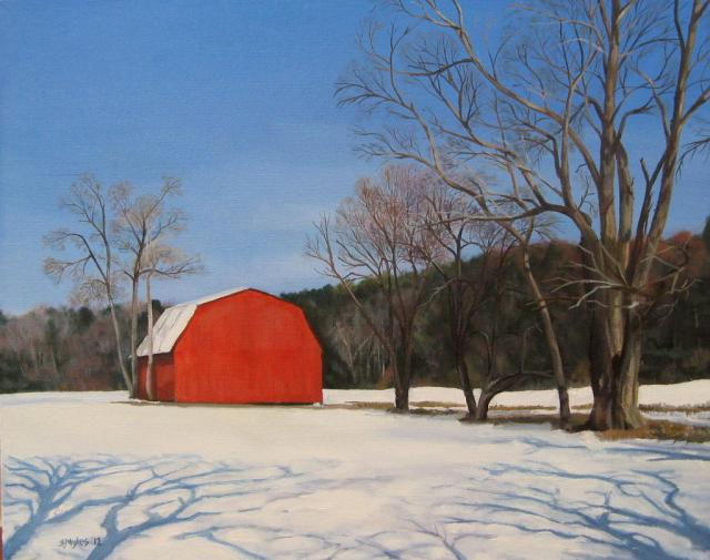 Maryland Red Barn, by Steve Myles