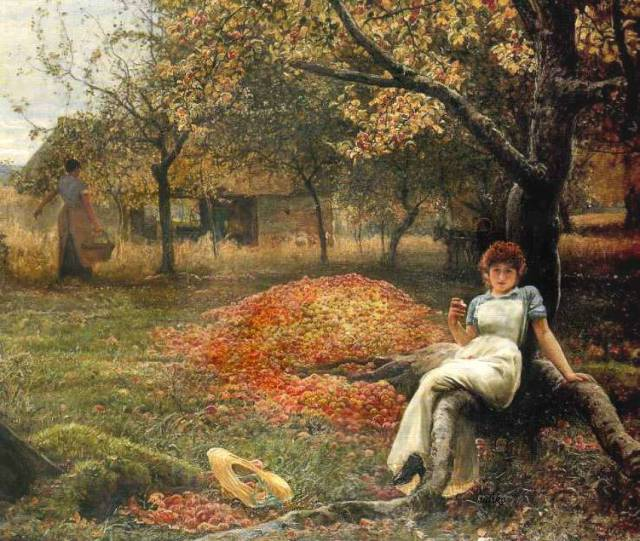 The Cider Orchard, by Robert Walker MacBeth